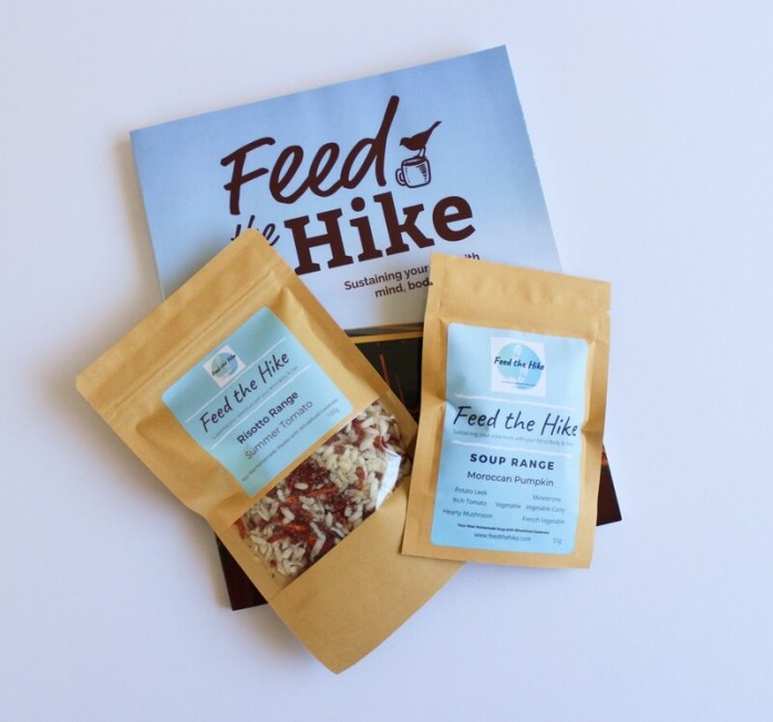 Feed the Hike Book + Risotto + Dinner Soup Bundle