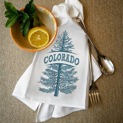 Colorado / Denver Tea Towels