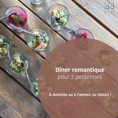 Diner romantique pour 2 personnes