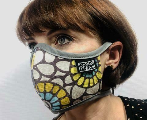 Design Team Mask - Okra Aqua