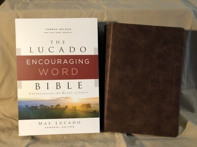 Lucado Encouraging Word Bible