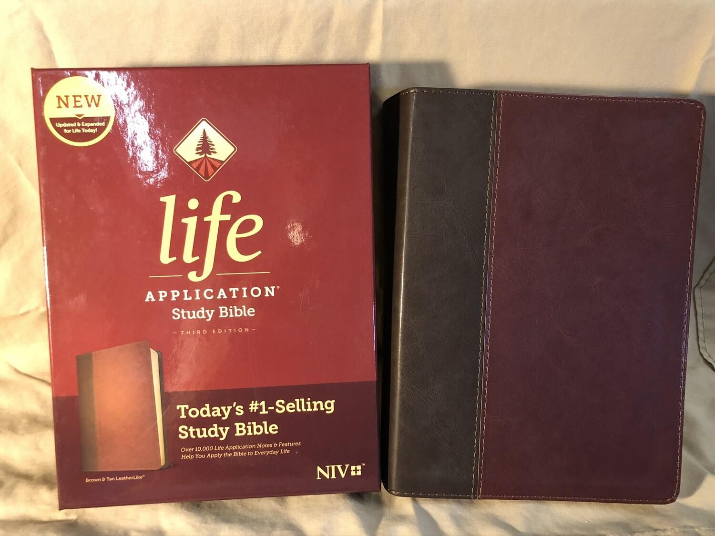 Life Application Brown Tuotone