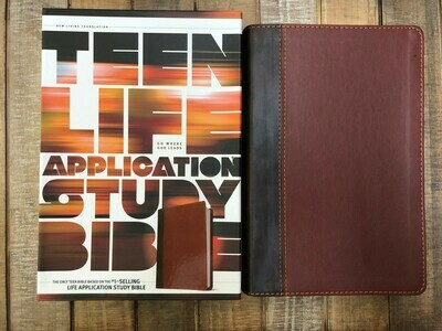 Teen Life App Bible NLT Go Where God Leads