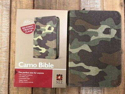 Camo Zipper Bible