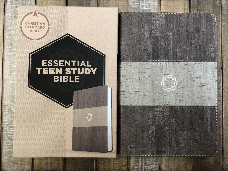 CSB Essential Teen Study Bible