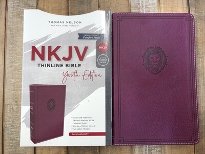 Berry Leathersoft NKJV Youth Edition