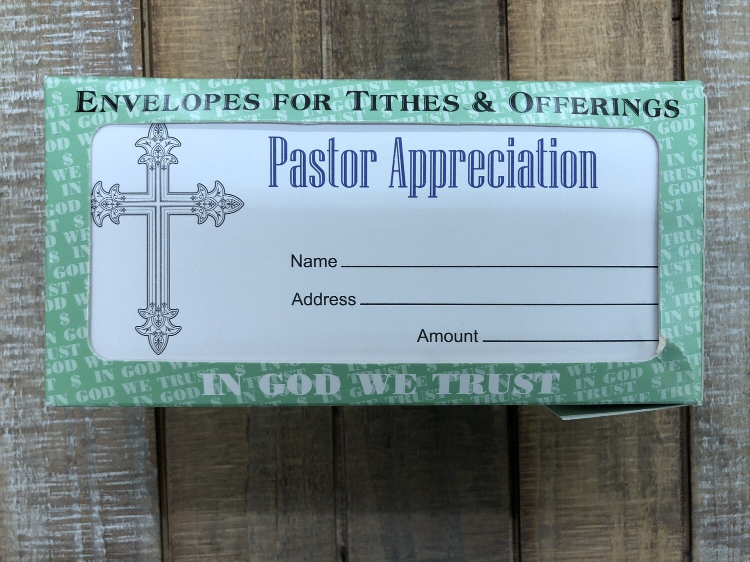 Pastor Appreciation Envelopes