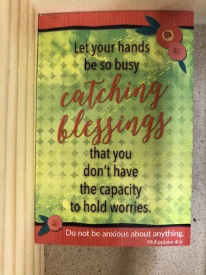 Catch Blessings Pass Card