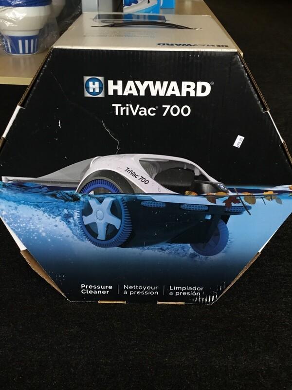 TriVac 700 inground cleaner