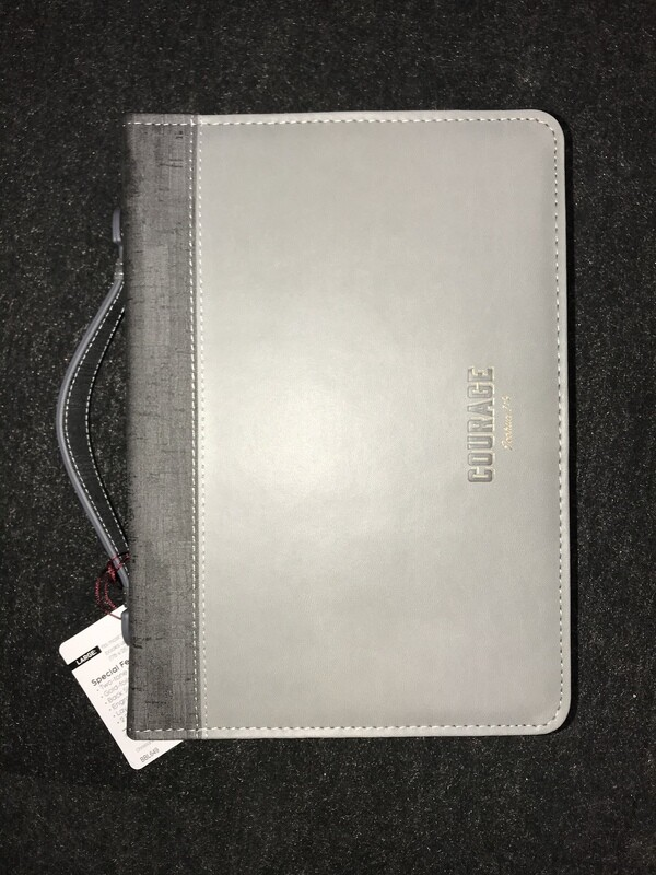 Gray Courage Large Case