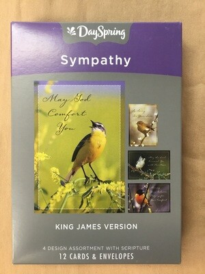 Bird Sympathy Cards
