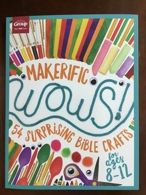 Makerifice Wows Bible Crafts