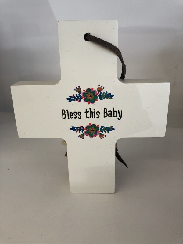 Bless this Baby Cross