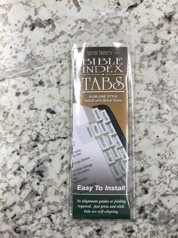 Slimline Gold Bible Tabs