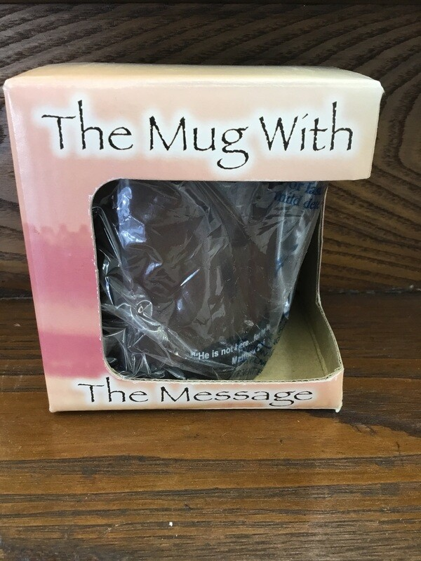 Mug with a message