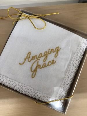 Amazing Grace Handkerchief