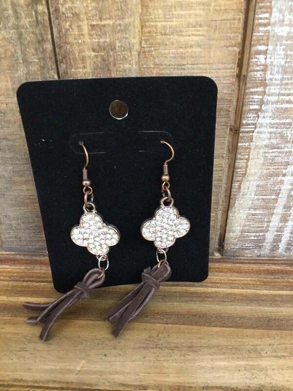 Taupe Earrings