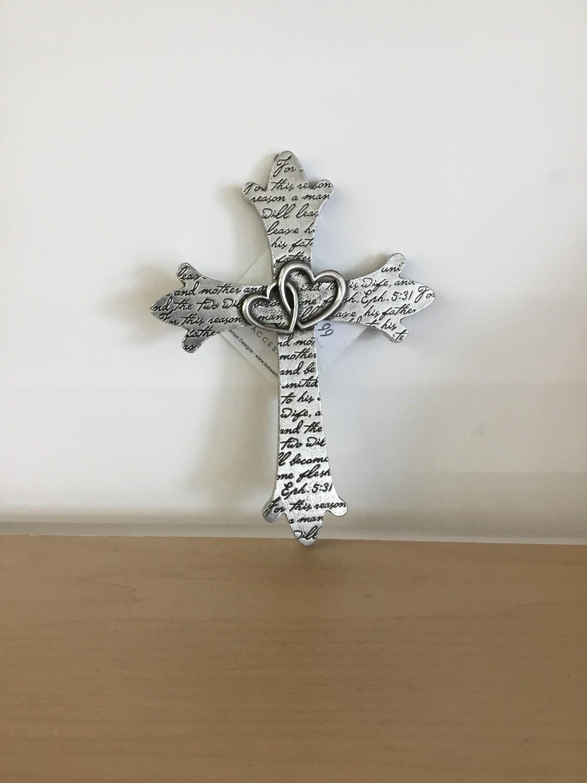 Wall Cross Wedding