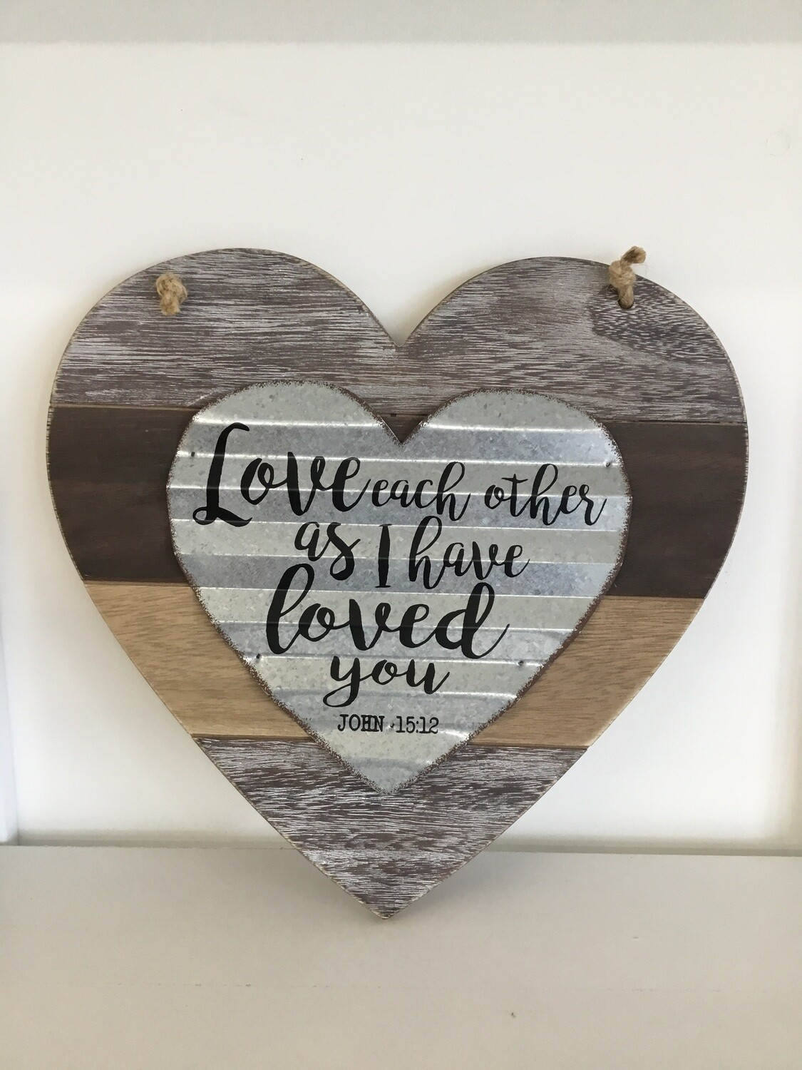 Love Each Other Plaque