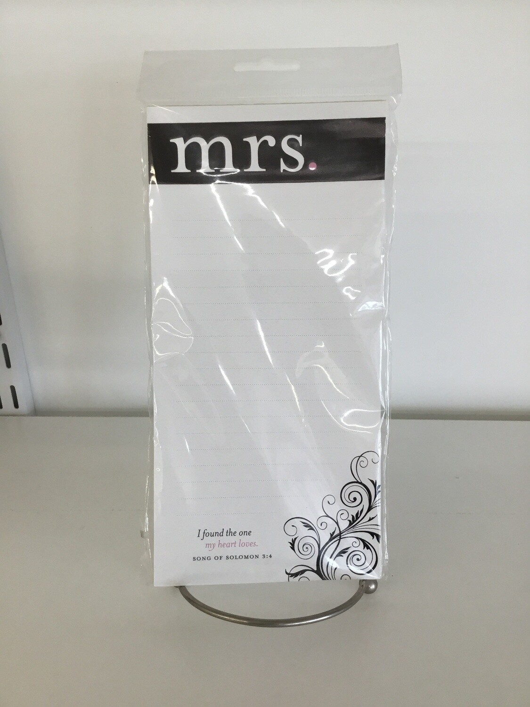 Mrs Big Notepad