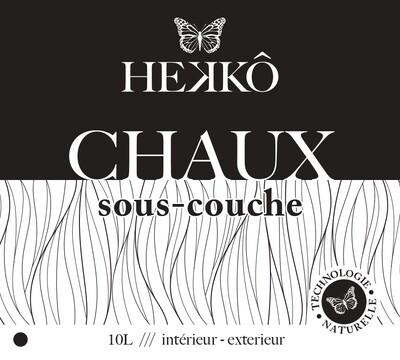 CHAUX - SOUS COUCHE VEGETALE - 10 Lt