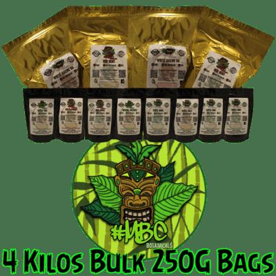 4 Kilos Bulk (250 gram Bags)