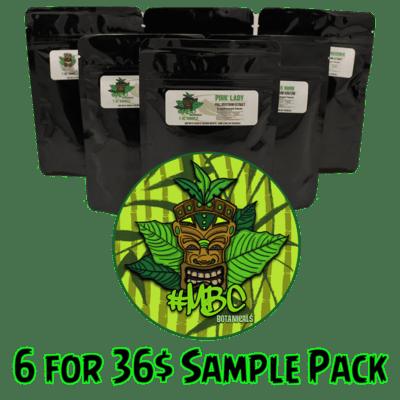 6 for $36 Sample Pack
