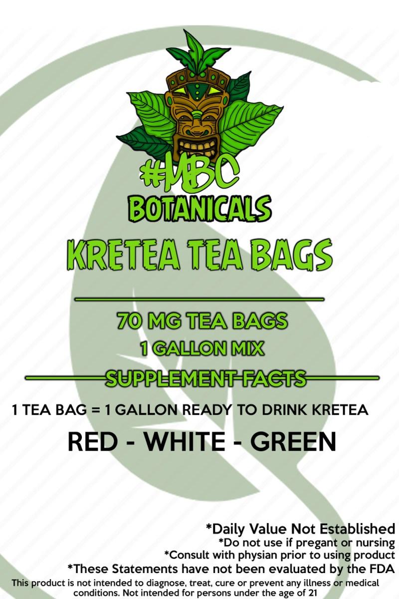 #MBC Kretea Tea Bags