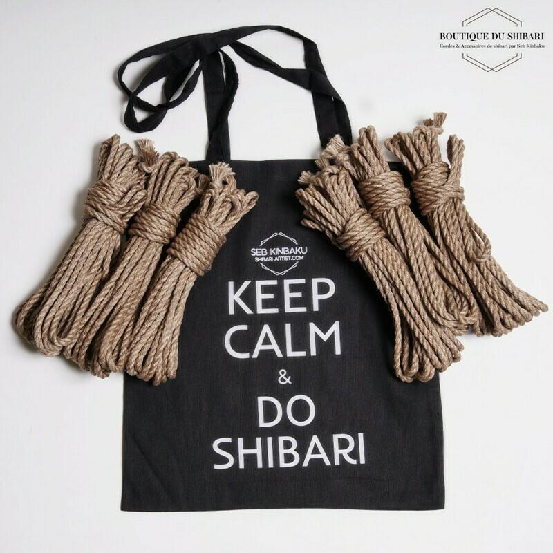 SHIBARI ROPE & TOTE BAG