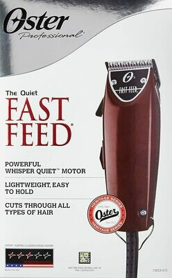 Oster Professional Fast Feed Clipper with Adjustable Blade OSFASTFEED 76023-510