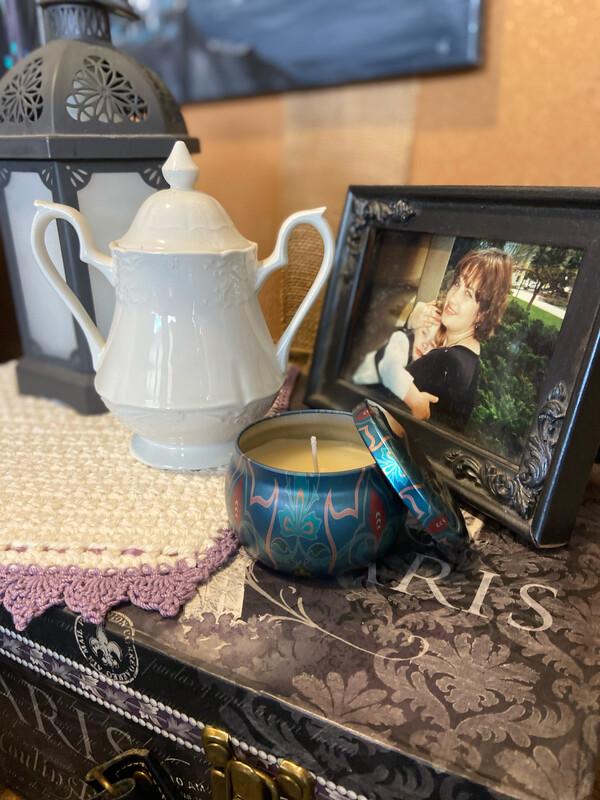 Bergamot Of Joy Beeswax Candle