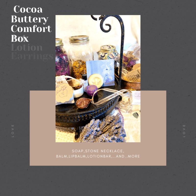 Cocoa Buttery Comfort Box