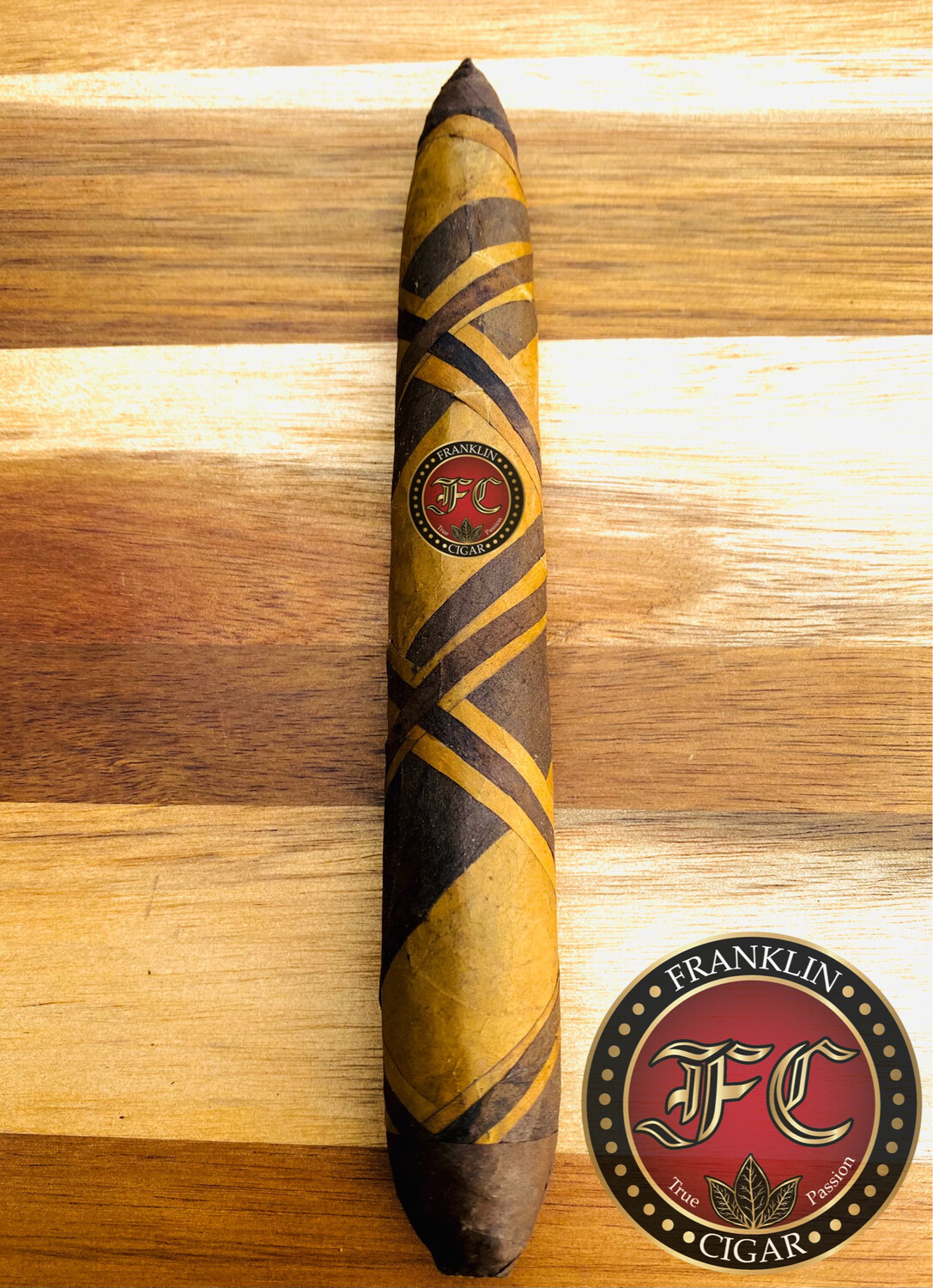 Franklin Cigars Box Press 1-A Maduro