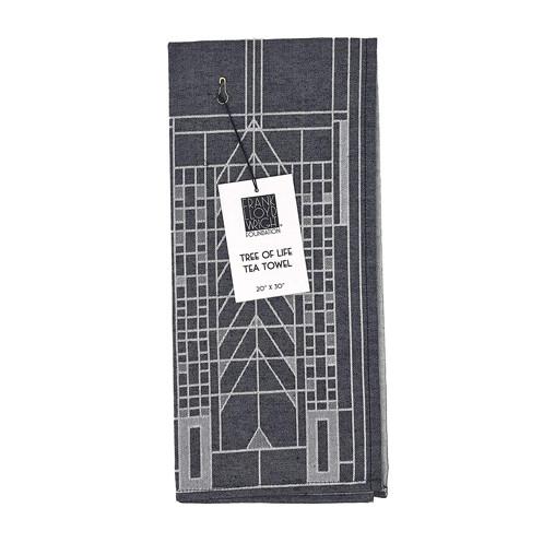 Frank Lloyd Right - Tree of Life Tea Towel