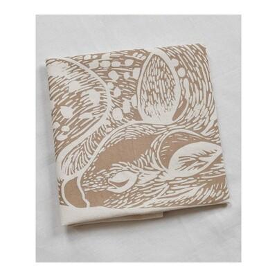 Hearth & Harrow Organic Cotton Tea Towel - Sleeping Deer