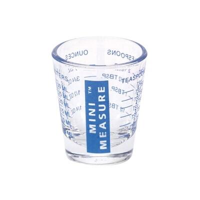 Mini Measure Blue 1 Ounce Measuring Cup