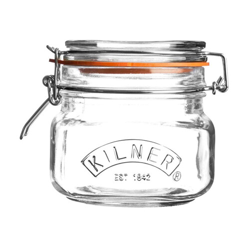 Kilner Square Clip Top Jar 17 oz