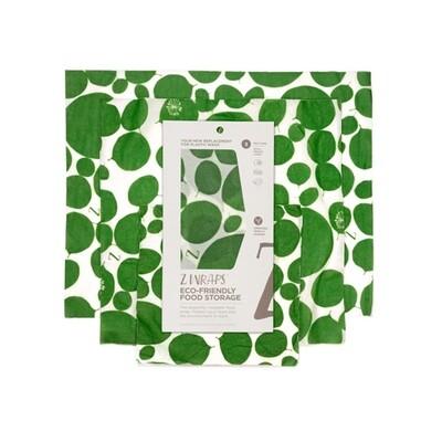 Z Wraps Multi-Size 3 Pack - Leafy Green