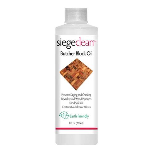 SiegeClean Butcher Block Oil 8oz