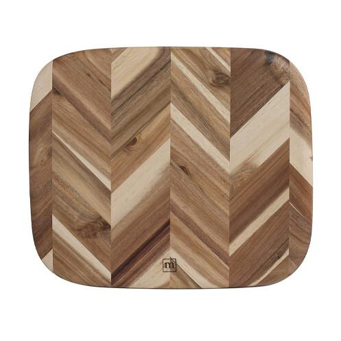 Madeira Herringbone Cutting Board Acacia 12.5