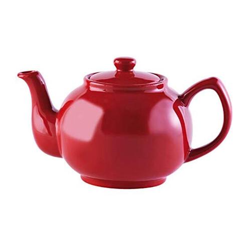 Price & Kensington 6 Cup Teapot - Bright Red
