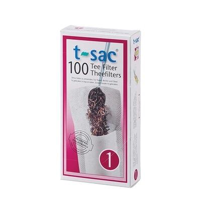 T-sac Tea Filter #1 - Pack of 100