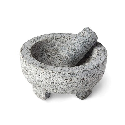 Foxrun Granite Molcajate Mortar & Pestle