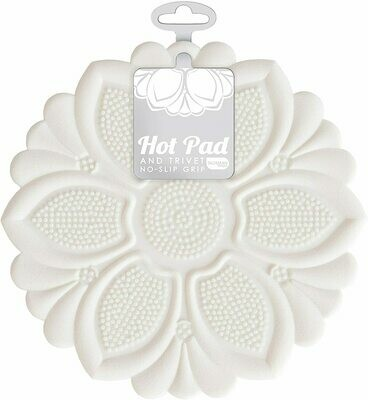 Talisman Hot Pad & Trivet - White