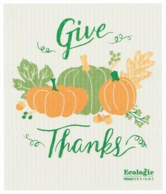 Compostable Dishcloth - Give Thanks