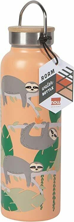 Roam Double Walled Bottle - Sloths