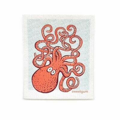 Compostable Dishcloth - Octopus