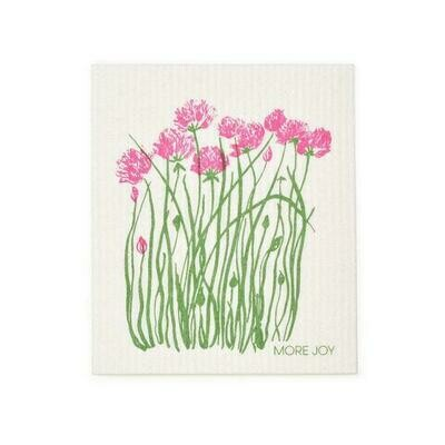 Compostable Dishcloth - Chives in Bloom