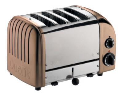 Dualit Classic NewGen 4-Slot Toaster - Copper