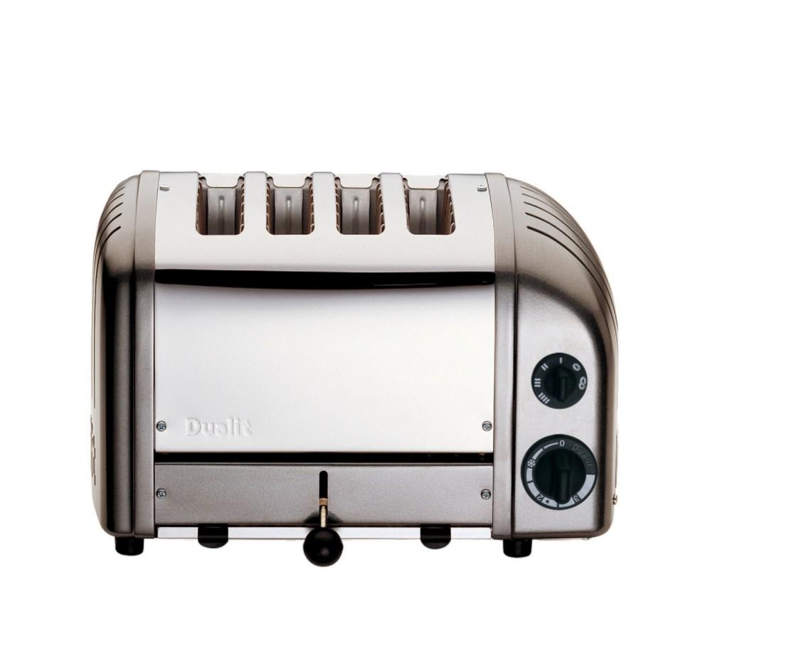 Dualit Classic NewGen 4-Slot Toaster - Metallic Charcoal